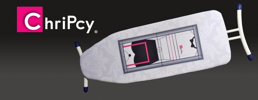 Chripcy housse de repassage avec guide de pliage for Housse repassage