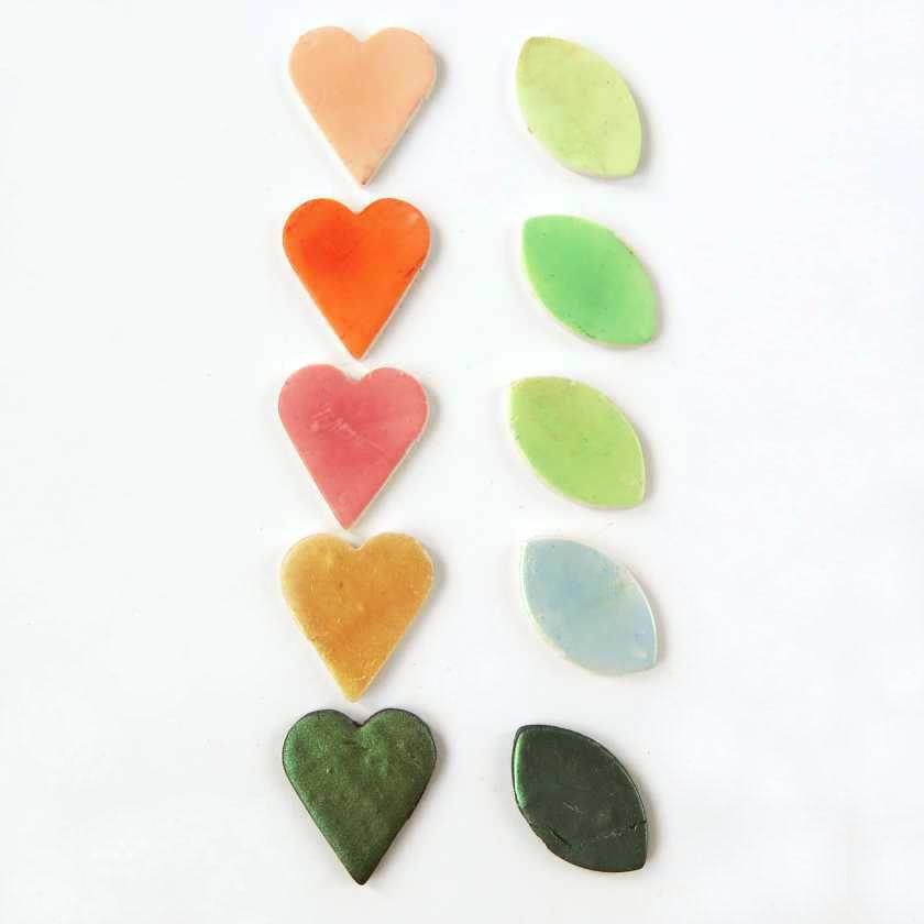 Colorazione pasta sintetica