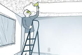 Ecosolve blog how to remove a popcorn ceiling without water for How to remove popcorn ceiling without water