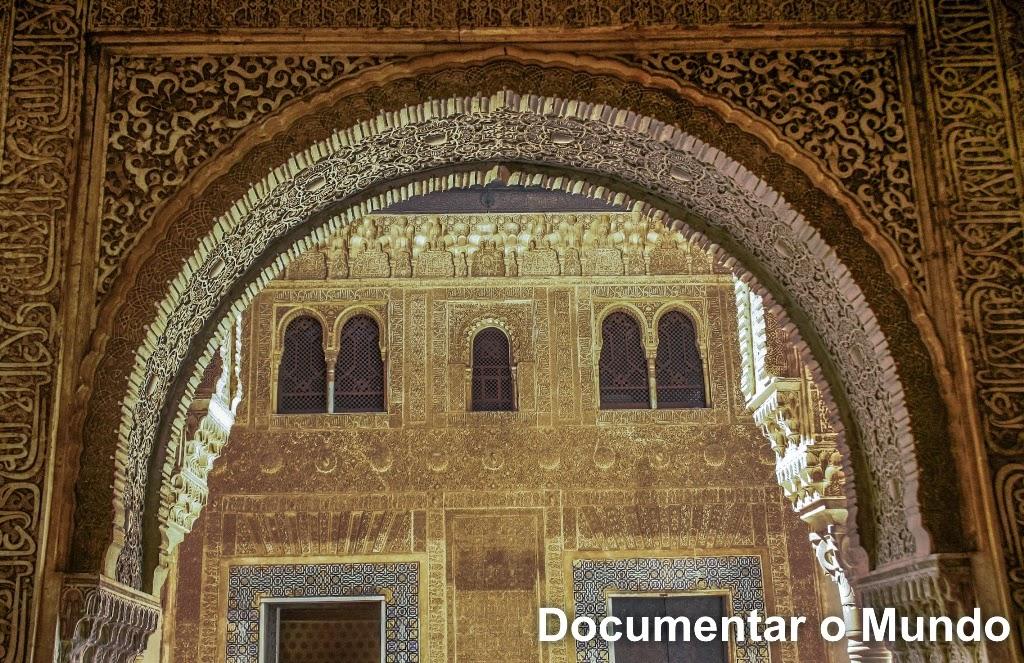 Alhambra, Palácios Nazaríes, Granada, Espanha