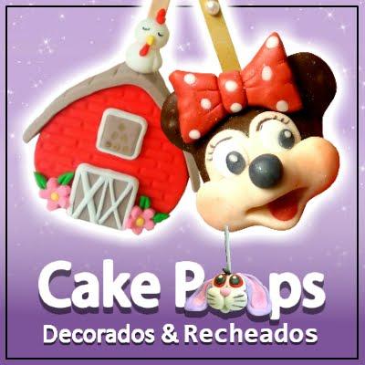 Extraordinário Curso Online Cake Pops Decorados & Recheados
