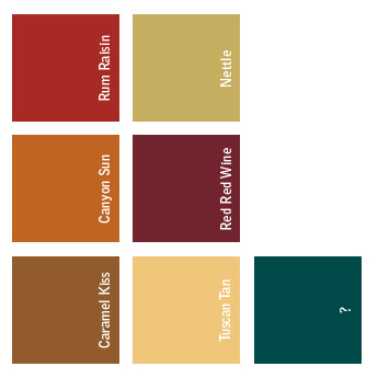 Tuscan Paint Palette Home Ideas Pinterest