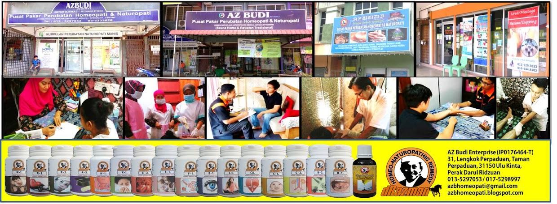 AzBudi Pusat Pakar Perubatan Homeopati & Naturopati