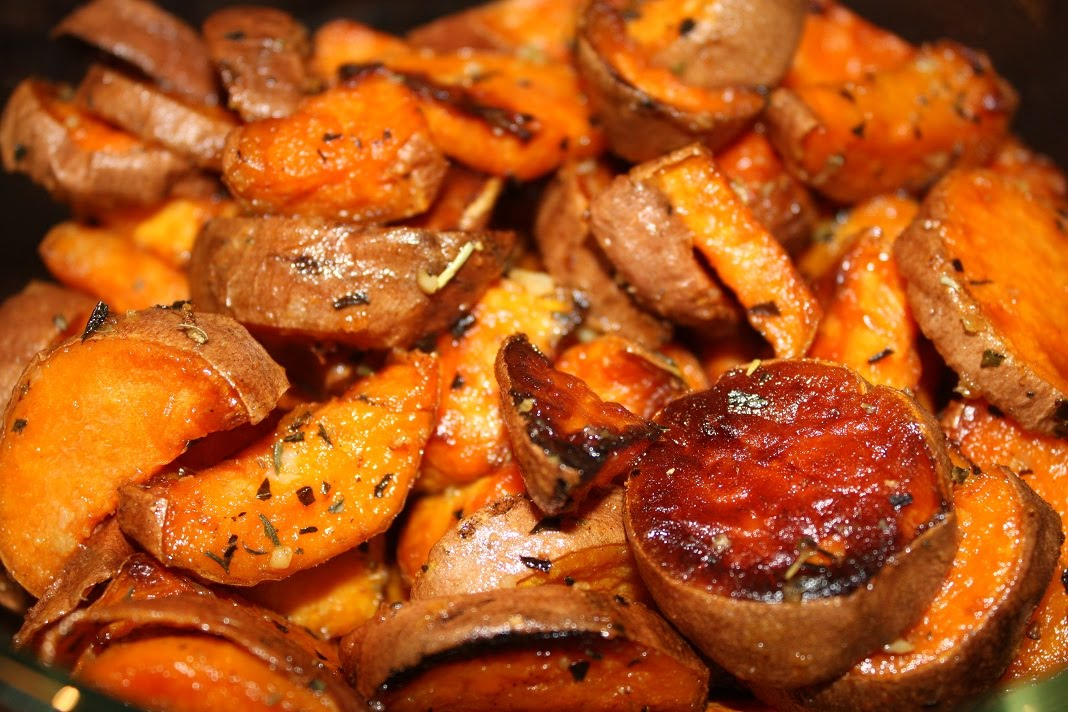 sweet potatoes herb roasted sweet potatoes herb roasted sweet potatoes ...