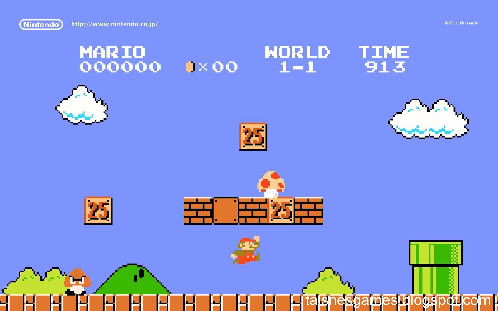 Classic Game Super Mario Bros