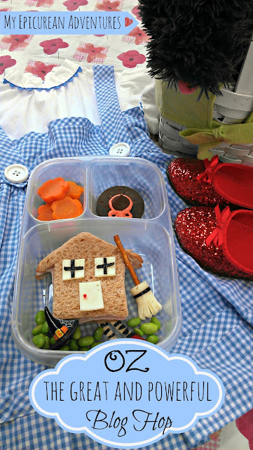 My Epicurean Adventures: Wizard of Oz Lunch in @Easylunchboxes