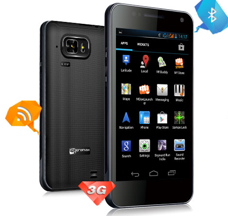Micromax A90S Superfone Pixel dual SIM smart phone