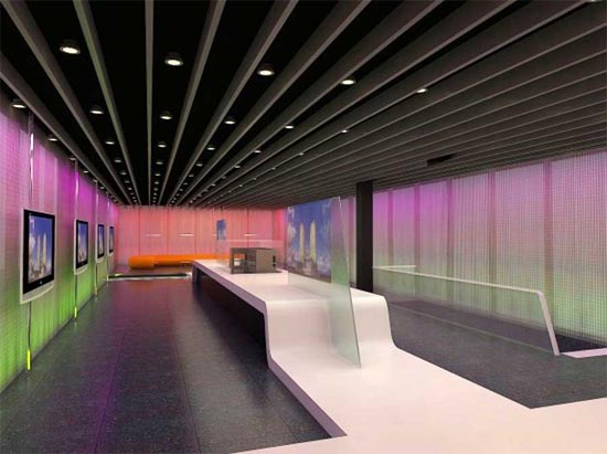 design turkey organic structures and lighting design ritm office