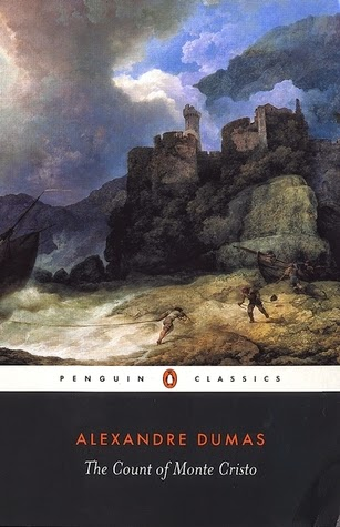 Book cover for The Count of Monte Cristo by Alexandre Dumas