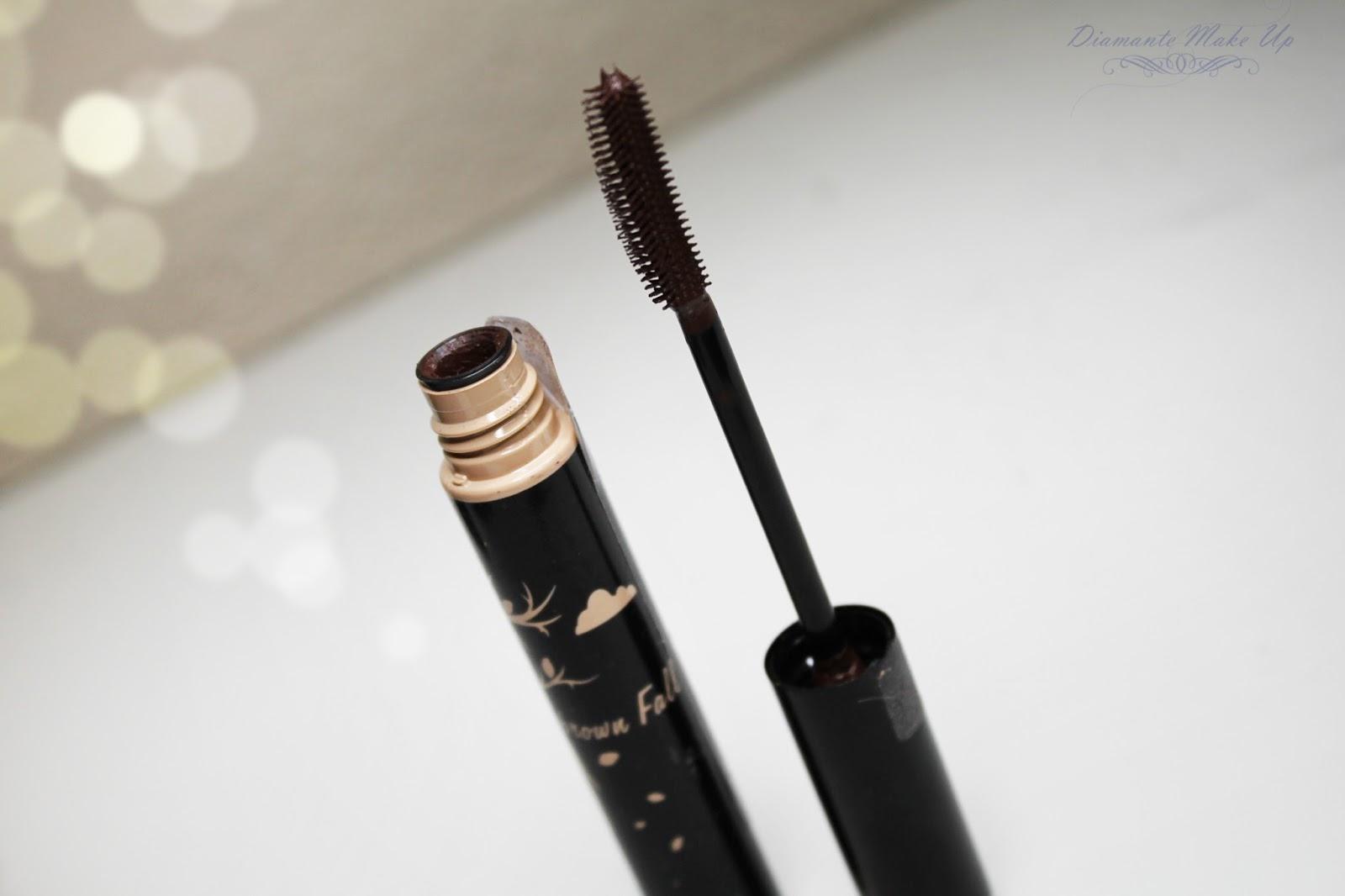 Brazowa Maskara Vipera Cosmetics - Recenzja