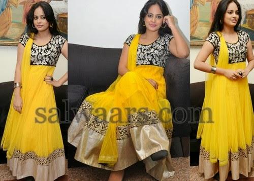 Nandita Yellow Salwar Kameez