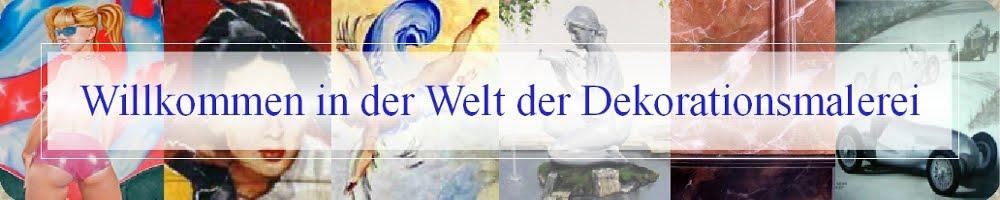 Willkommen in der Welt der Dekorationmalerei