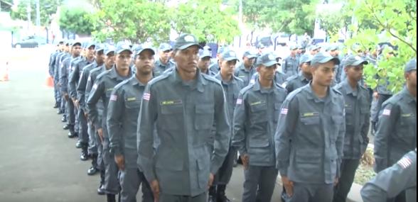Caxias: Polícia Militar promove formatura de novos soldados