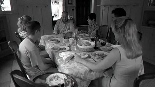 The girl who loves horror april 2012 - American history x dinner table scene ...