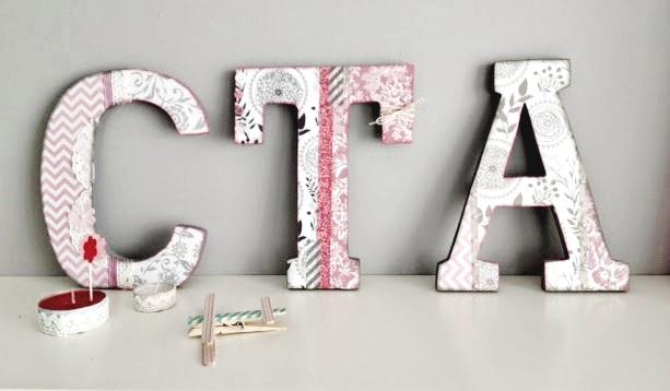 letras alteradas craft