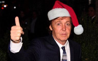 The Beatles Polska: Święta u Paula McCartneya