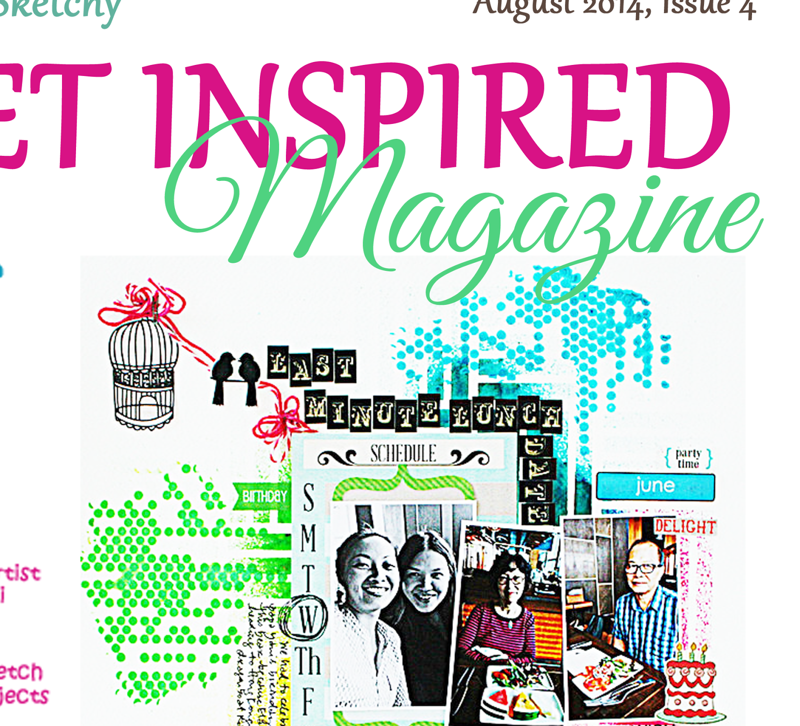 Get inspired Magazine 4th issue