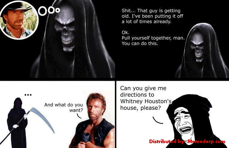 Death Vs Chuck Norris Meme