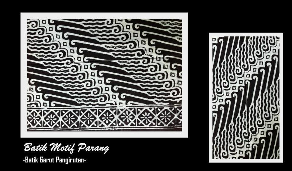 Menggambar Motif Batik Batik Motif Parang