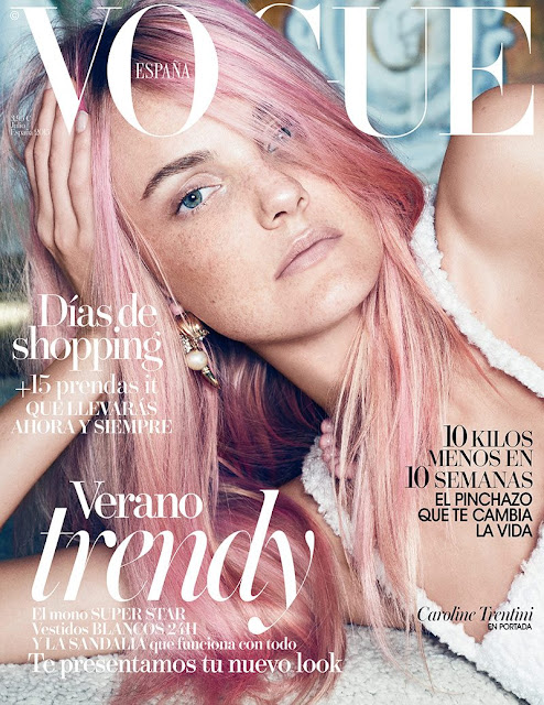 Fashion Model @ Caroline Trentini – Vogue Spain July 2015