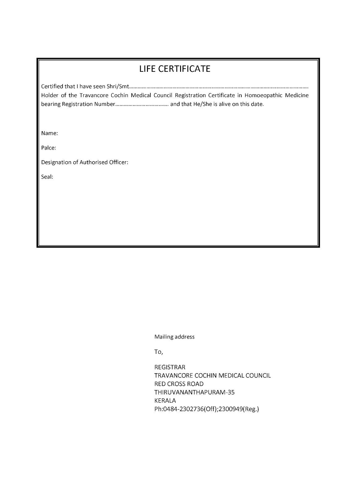 TC Medical council,Kerala-Register update-Urgent |Homoeoscan ...