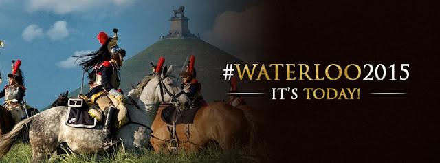 Schlacht von Waterloo ,Napoleonic wars, Reenactment, Waterloo 2015