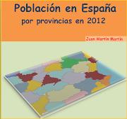 La población de España en 2012. (la poblaciã³n de espaã±a por provincias)