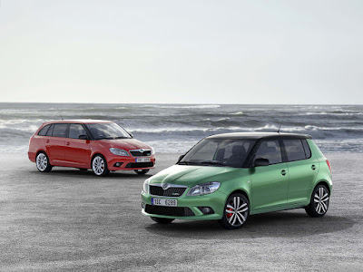 2012 Skoda Fabia RS wallpapers