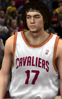 NBA 2K13 Anderson Varejao Cyber Face Patch