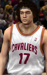 NBA 2K13 Anderson Varejao Cyber Face Patch
