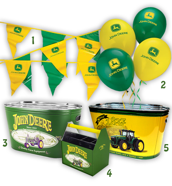 John Deere Pennant Banner For Feet Green Fun Store