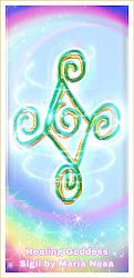 Healing Goddess Sigil by Maria