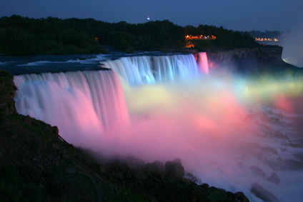 Las cataratas del ni gara for Best places to go in nyc at night