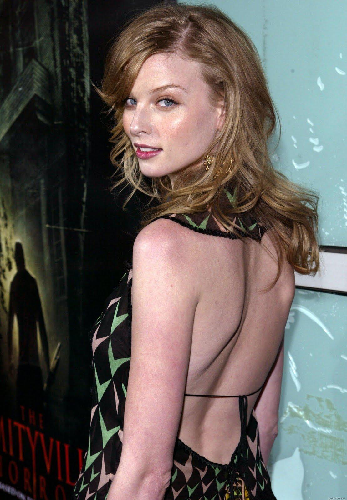 actress rachel nichols hot