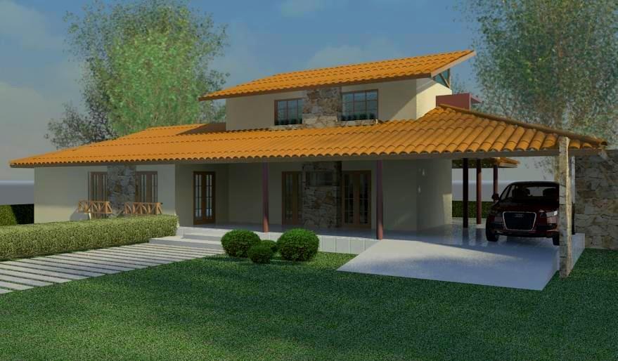 Projeto de casas de campo vdeo projeto casa de campo em for Ver modelos de casas de campo