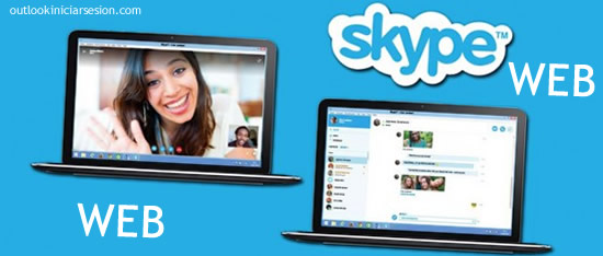 en outlook iniciar sesion skype web