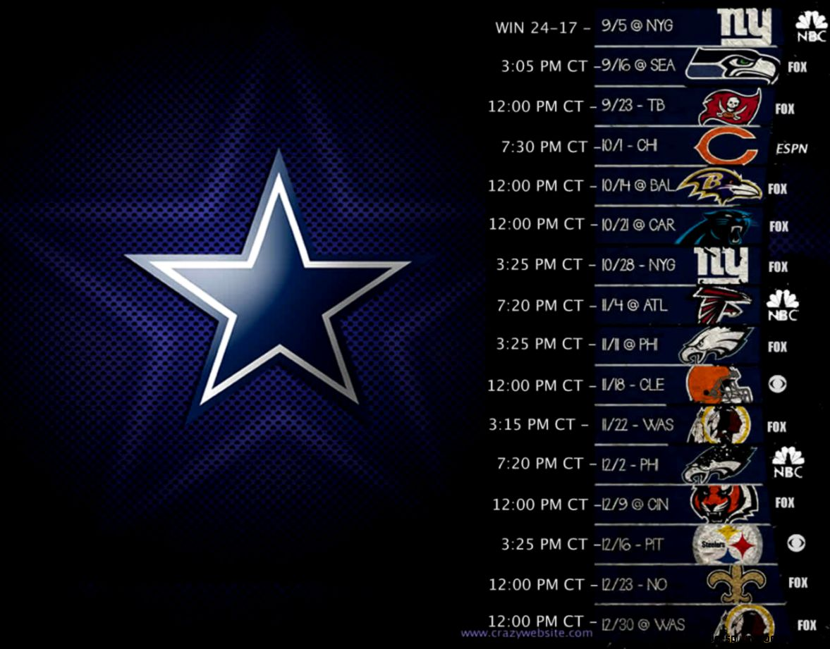 Image gallery for  cowboy dallas schedule wallpaper