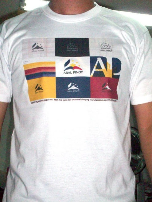 FREE ARAL PINOY T-Shirt