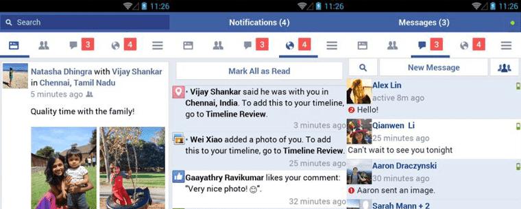 فيسبوك تطلق نسخة خفيفة جداً من تطبيق شبكتها الإجتماعية لنظام أندرويد (التطبيق جاهز للتحميل)