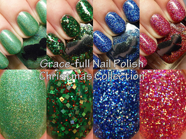 Grace-full Nail Polish Christmas Collection