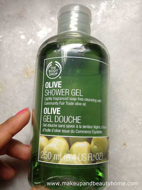 how to use shower gel body shop