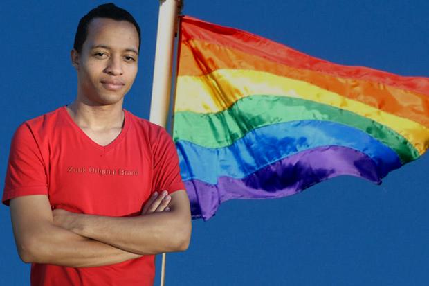 Hernanny Queiroz concorre pela cadeira temática 'Orientação Sexual e Identidade de Gênero LGBT' com o número 257 (Foto: Divulgação)