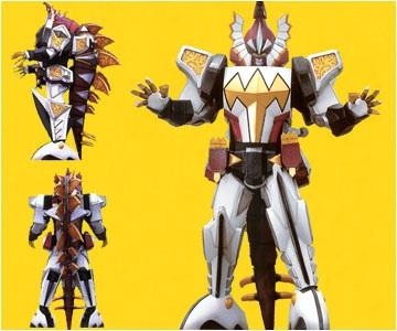 Origami Power Ranger Sword