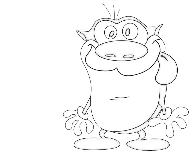 stimpy-character-coloring-pages