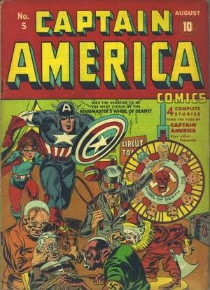 Captain America Comics #5 image