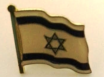 Pin solapa Bandera ondeante metálico 2x1.5 ctms.