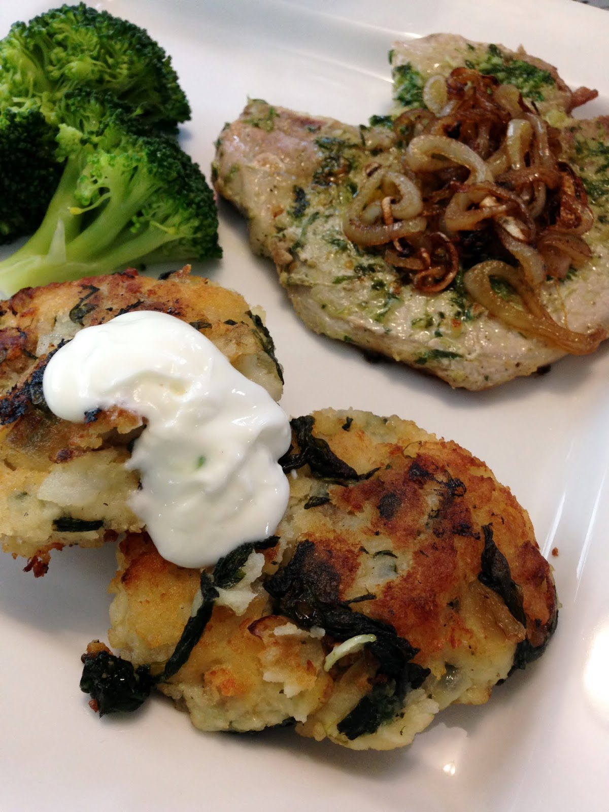 HoneyBears & SydneyBeans: Herb Pork Chops With Caramelized Shallots ...