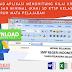 Jadwal Pelajaran SMP Menggunakan Excel Gratis