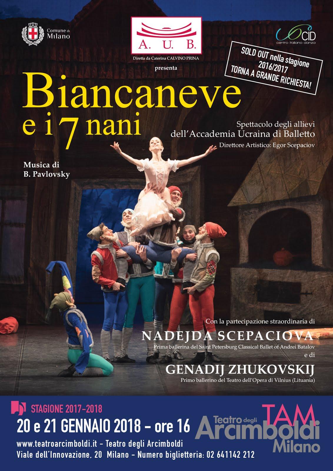Balletto Biancaneve e i sette nani
