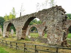 Ruiny Zakładu Wielkopiecowego w miejscowości Bobrza gmina Miedziana Góra
